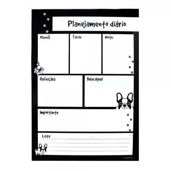 planejamento diario bulldog villa store 5394