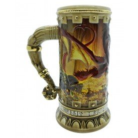 caneca ceramica the hobbit smaug limited edition stein villa store 4748 a