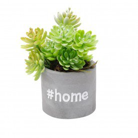 cachepot mini de concreto sweet home 5820 a