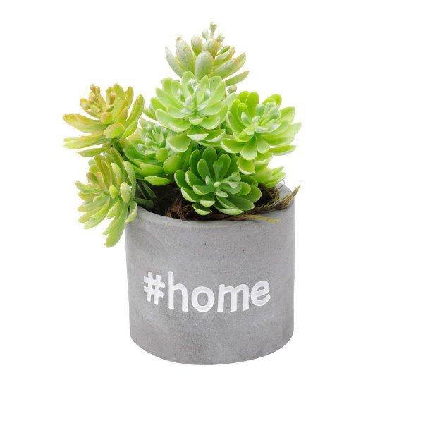 cachepot mini de concreto sweet home 5820 a