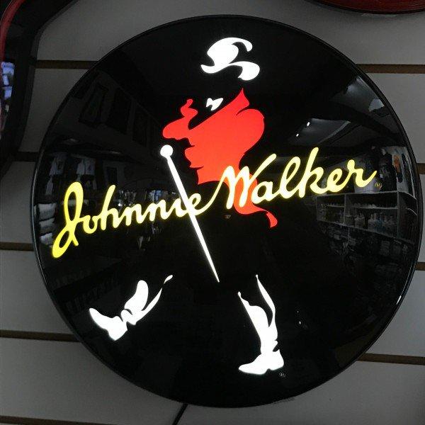 luminos back light johnnie walker villa store