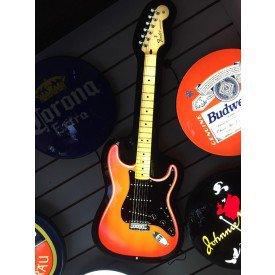 luminoso guitarra fender stratocaster 1964 villa store 4630