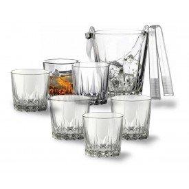 balde de gelo 6 copos whisky karat 800ml 6x300ml pasabahce villa store 1039
