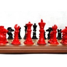 jogo de pecas xadrez colecao geometrico 787 villa store 6170