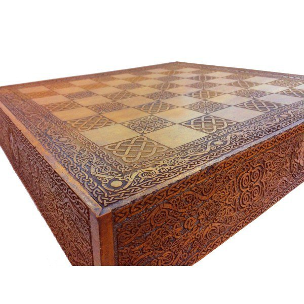 tabuleiro de xadrez lewis celta viking villa store 6261 4