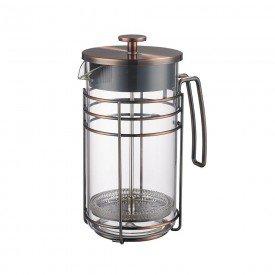 072488 cafeteira francesa em vidro e aco inox 1000ml modern 6497 villa store