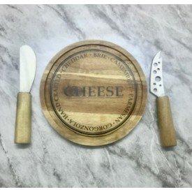 tabua de queijo 3 pecas 1041 villa store